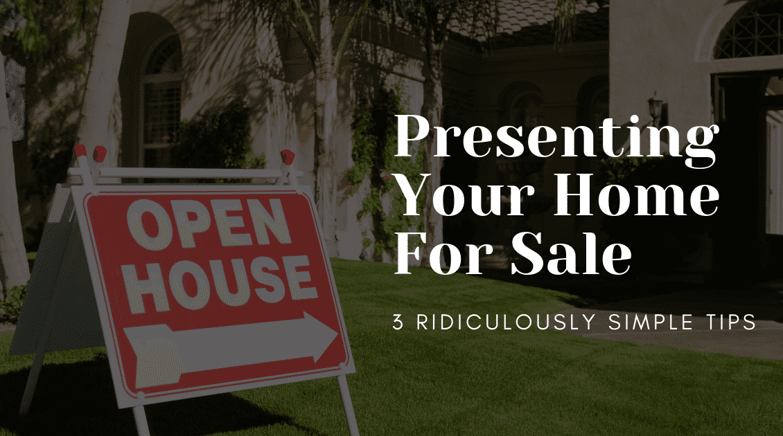 Presenting your property for sale