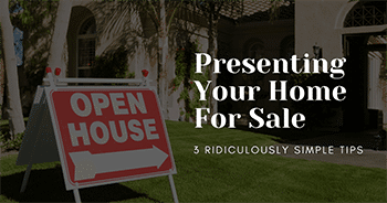 presenting your home for sale